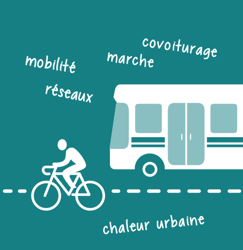 Illustration du niveau Territoire / transports
